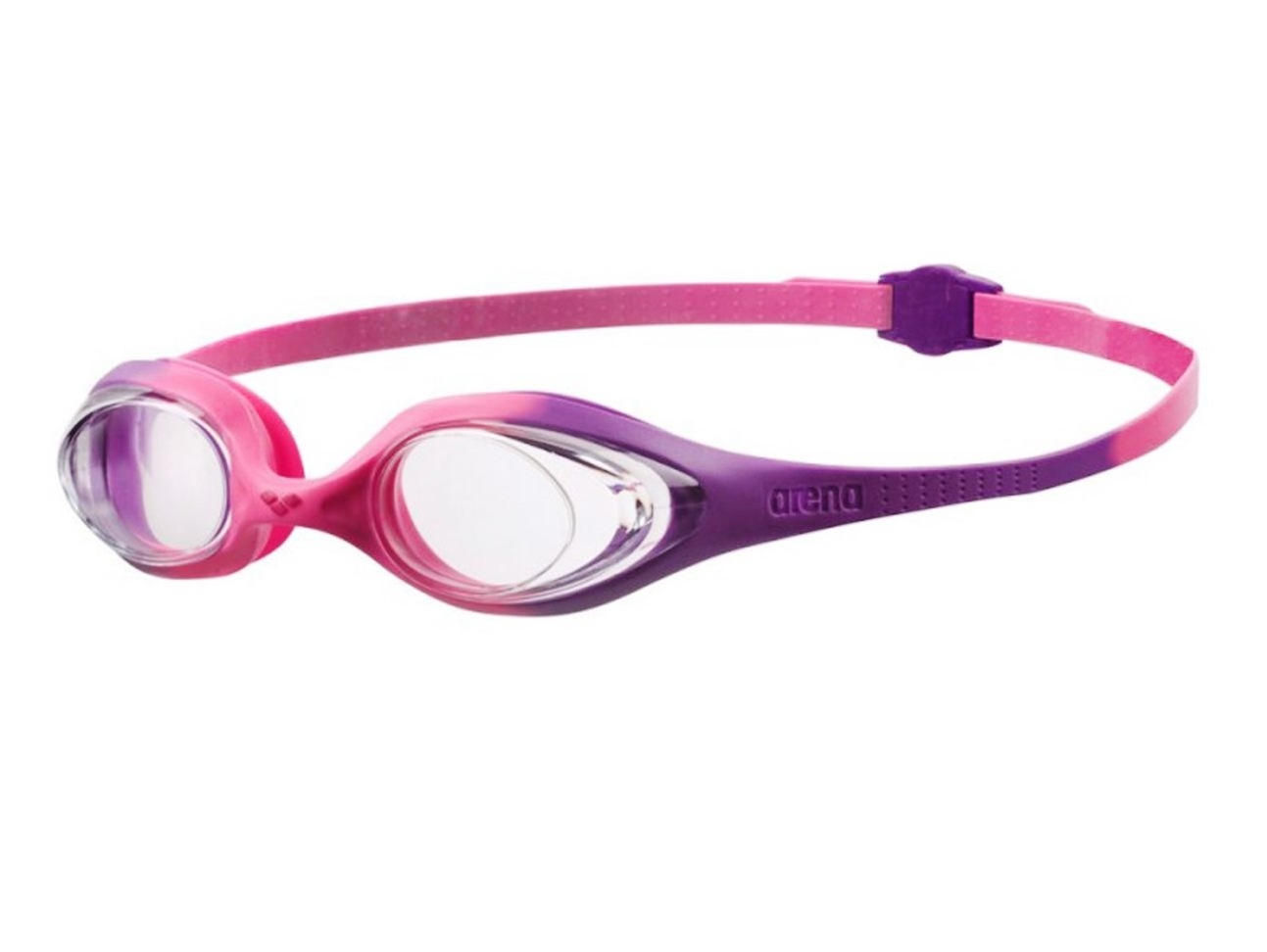 Очки Arena Spider JR, violet/clear/pink