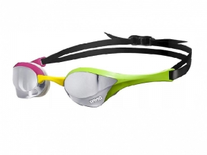 Очки Arena Cobra Ultra Mirror, green/pink