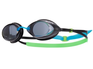 Очки TYR Tracer Racing Junior, green/blue