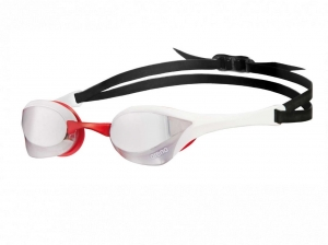 Очки Arena Cobra Ultra Mirror, white/red