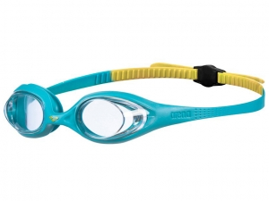 Очки Arena Spider JR, clear/mint/yellow