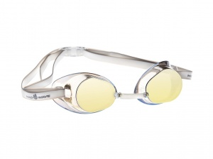 Очки MadWave Racer SW Mirror, yellow