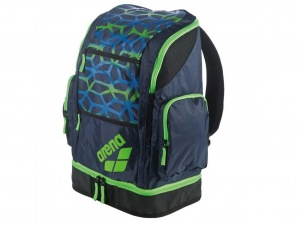 Рюкзак Arena Spiky 2 Large, spider navy/fluo freen